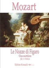 Les Noces de Figaro, Ouverture - 3 Flûtes MOZART laflutedepan.com