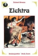 Elektra, Opéra Richard Strauss Partition laflutedepan.com