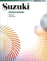 suzuki - Suzuki Guitar School Guitar Part, Volume 3 - Partition - di-arezzo.fr