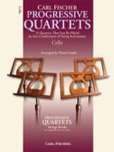Progressive quartets for strings - Gazda Doris - laflutedepan.com