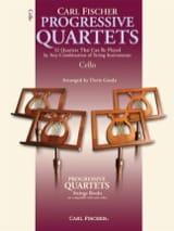 Progressive quartets for strings Gazda Doris laflutedepan.com