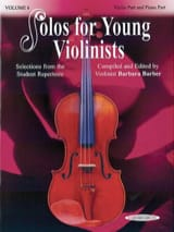 Solos for young Violonists vol 6 Barbara Barber laflutedepan.com