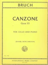 Max Bruch - Canzone, opus 55 - Sheet Music - di-arezzo.co.uk