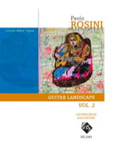 Paolo Rosini - Guitar Landscape Vol. 2 - Sheet Music - di-arezzo.co.uk