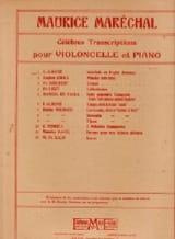 Interlude de Pepita Jimenez - Violoncelle piano ALBENIZ laflutedepan