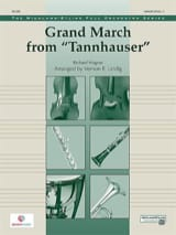 Grand March Tannhauser - score & parts WAGNER Partition laflutedepan