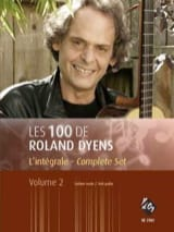 Roland Dyens - The Roland Dyens 100 - Volume 2 - Sheet Music - di-arezzo.co.uk