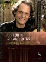 Les 100 de Roland Dyens - Volume 2 Roland Dyens Partition laflutedepan