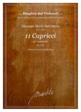 11 Capricci Abaco Giuseppe Maria Dall' Partition laflutedepan.com