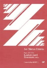 Jan Dismas Zelenka - Laudate pueri Dominum D Hard - Sheet Music - di-arezzo.co.uk