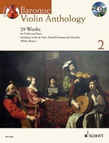Baroque Violon Anthology 2 Partition Violon - laflutedepan.com