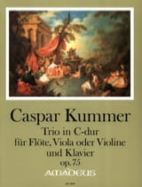 Trio, op. 75 - Flûte, Alto (ou Violon) et piano laflutedepan.com