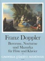 Berceuse, Nocturne et Mazurka - Flûte et piano - laflutedepan.com