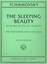 The Sleeping Beauty, act 3 - Quatuor à cordes laflutedepan.com