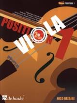 Position 1 - Viola (+ 2 CDs) Nico Dezaire Partition laflutedepan.com