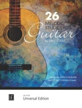 Paul Coles - 26 Melodic Studies - Guitar - Sheet Music - di-arezzo.co.uk
