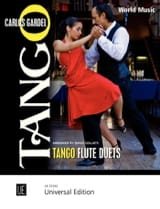 Tango Flute Duets Carlos Gardel Partition laflutedepan.com
