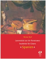 Lautenstücke aus der Renaissance : Spanien - Guitare laflutedepan.com