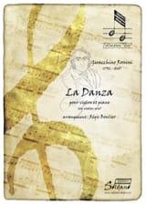 Gioacchino Rossini - la Danza - Partition - di-arezzo.fr