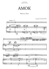Alexandre Ouzounoff - Amok - Sheet Music - di-arezzo.co.uk