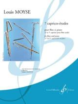 Louis Moyse - 7 Caprice-Etudes - Partition - di-arezzo.fr