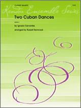 Two Cuban Dances Ignacio Cervantes Partition laflutedepan.com