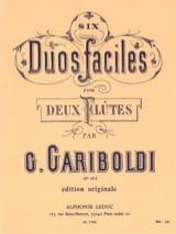 6 Duos Faciles, Op. 145 A - 2 Flutes - laflutedepan.com