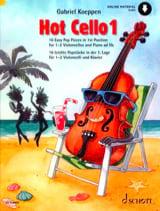 Hot Cello 1 Gabriel Koeppen Partition Violoncelle - laflutedepan.com