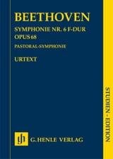 Symphonie n° 6 en Fa Majeur Pastorale - Conducteur laflutedepan.com