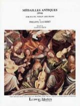Philippe Gaubert - Ancient Medals - Sheet Music - di-arezzo.com