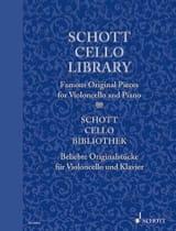 Schott Cello Library - Partition - Violoncelle - laflutedepan.com