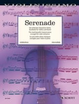 Serenade - Violon et piano Partition Violon - laflutedepan.com