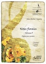Notes florales Vol 3 Jean-Michel Coquery Partition laflutedepan.com
