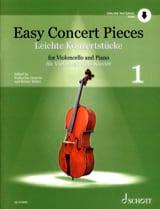 Easy Concert Pieces Volume 1 - Violoncelle et piano laflutedepan.com