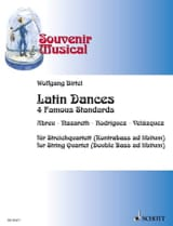 Traditionnels - Latin Dances - 4 Famous standards - Quatuor à cordes - Partition - di-arezzo.fr