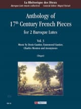 - Anthology of 17th century French Pieces vol. 3 - 2 Luths - Partition - di-arezzo.fr