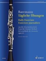 Carl Baermann - Exercices journaliers pour clarinette - Partition - di-arezzo.fr