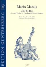 Suite en Sol Majeur - 2 Violes de gambe et Basse continue laflutedepan.com