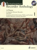 Renaissance Recorder Anthologie Volume 1 Partition laflutedepan.com