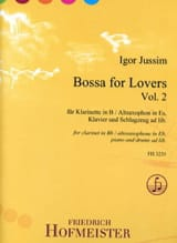 Bossa for Lovers, vol. 2 - Clarinette et piano laflutedepan.com