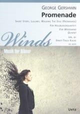 George Gershwin - Promenade - Quintette à vents - Partition - di-arezzo.fr
