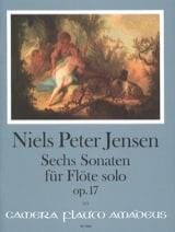 6 Sonates, op. 17 - Flûte solo Niels Peter Jensen laflutedepan.com