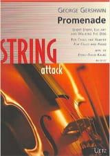 George Gershwin - Promenade - Cello and piano - Sheet Music - di-arezzo.co.uk