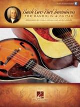 15 Inventions à 2 voix - Mandoline et Guitare BACH laflutedepan.com