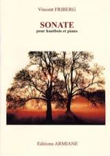 Sonate pour hautbois et piano Friberg Vincent laflutedepan.com