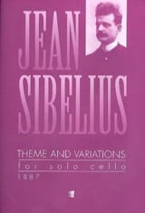 Theme and Variations Jean Sibelius Partition laflutedepan.com
