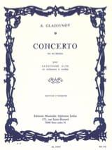 Concerto Saxophone en mi bémol op. 109 – Conducteur - laflutedepan.com
