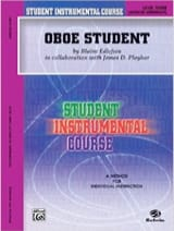 Edlefsen Blaine - Student instrumental course : Oboe Student 3 - Partition - di-arezzo.fr