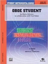 Edlefsen Blaine - Student instrumental course: Oboe Student 2 - Partition - di-arezzo.fr
