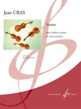 Jean Cras - Sonate - Violon et piano - Partition - di-arezzo.fr